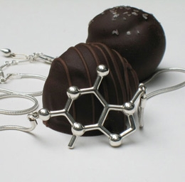 W99588N_01_Theobromine-Chocolate-Molecular-Jewelry-Necklace