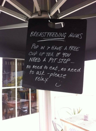 Breastfeeding Mothers Welcome
