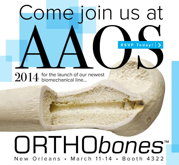 Visit Us at AAOS