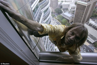 Alain Robert - Spiderman